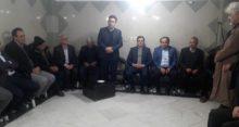 حمایت سید علی مرزانی عضو شورای شهر ملارد و آقای رضا خادم از حسین حق وردی