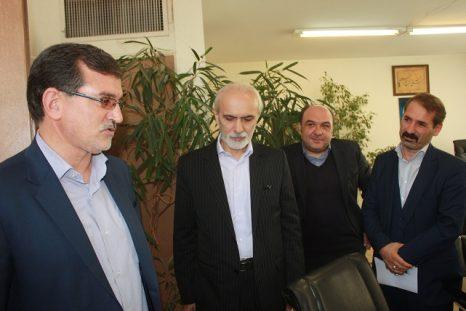 دیدار و گفتگوی نماینده منتخب حوزه مشق با مدیرکل فرهنگ و ارشاد اسلامی استان تهران