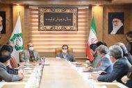 جلسه بررسی ساماندهی حریم رودخانه و کانال آب محمدیه باغستان