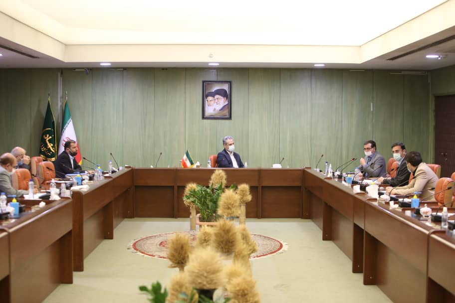 دیدار دکتر حق وردی با وزیر جهاد کشاورزی